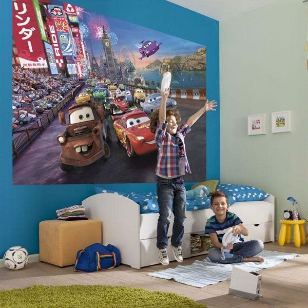 Cars wallpaper bedroom decor