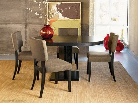 Simplicity is always nice....Asian Dining Room Set within Modern Style