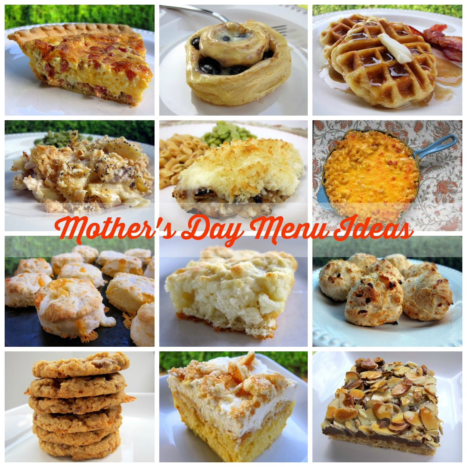 recipes to treat mom on her special day! recipes for breakfast