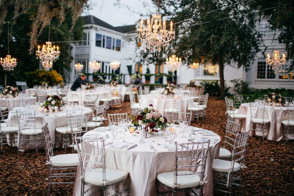 Luxurious Red And Pink Sarasota Garden Wedding Jewish Wedding