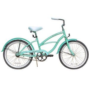 Mint Green Beach Cruiser