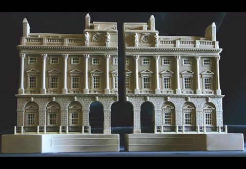 Somerset House Bookends From Timothy Richards Bookends Architecture Model Urban Design Plan