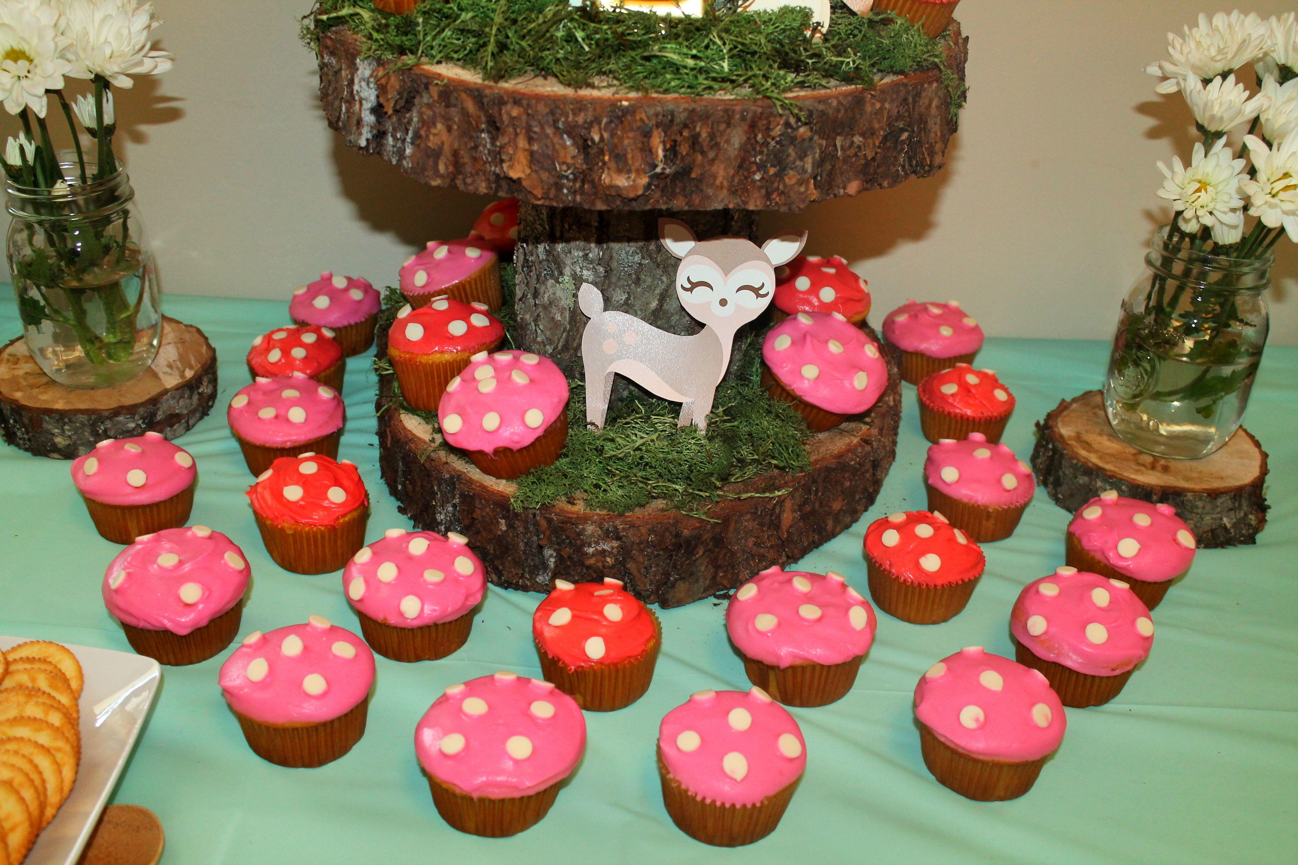 Girly Woodland Animal Birthday Party