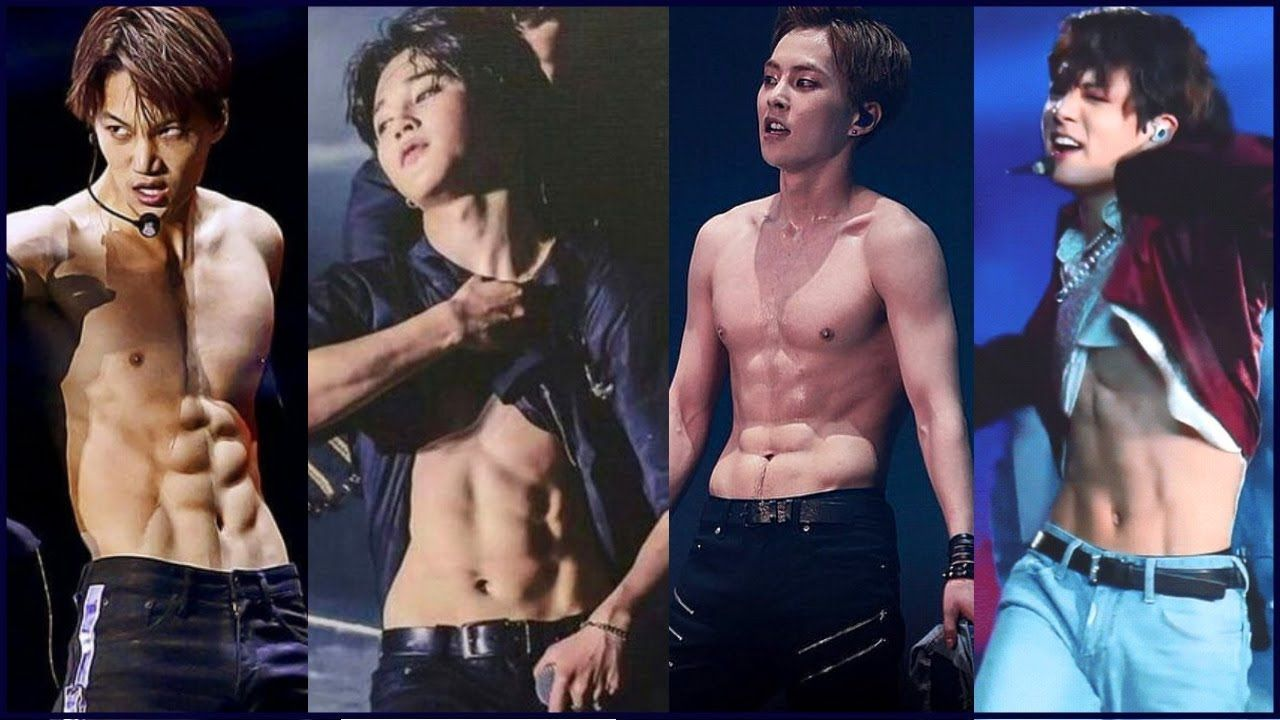 Kpop Idols With The Best Abs Guys Edition Kpop Guys Men Abs Abs