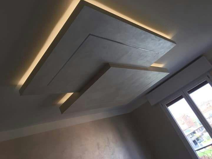 pin de tavo rodr guez en plafones dise o de techo On falso modelo de techo en yeso algerie