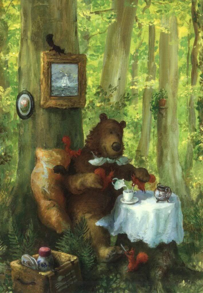 этой картинки чай и медведь может