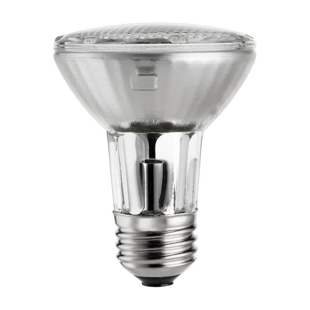 Philips 39 Watt Equivalent Halogen Par20 Dimmable Floodlight Bulb 419861 Light Bulb Outdoor Flood Lights Bulb