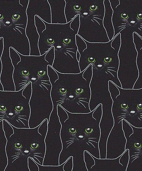 The Perfect Backing Fabric Cat Art Black Cat Aesthetic Cat Drawing