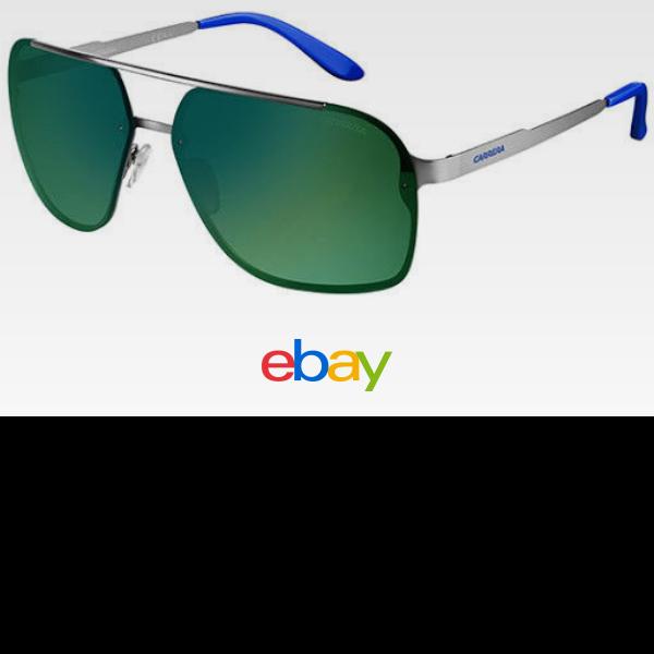 3e29e938b Carrera Stainless Steel Navigator Sunglasses w/ Mirror Lens 91S-0R81 ...