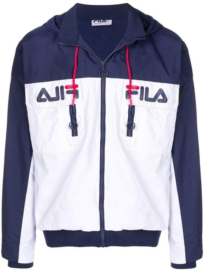 Fila Logo zip up Jacket | Ropa deportiva nike, Ropa