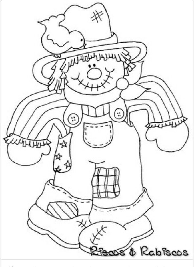 scarecrow  fall coloring pages coloring pages halloween