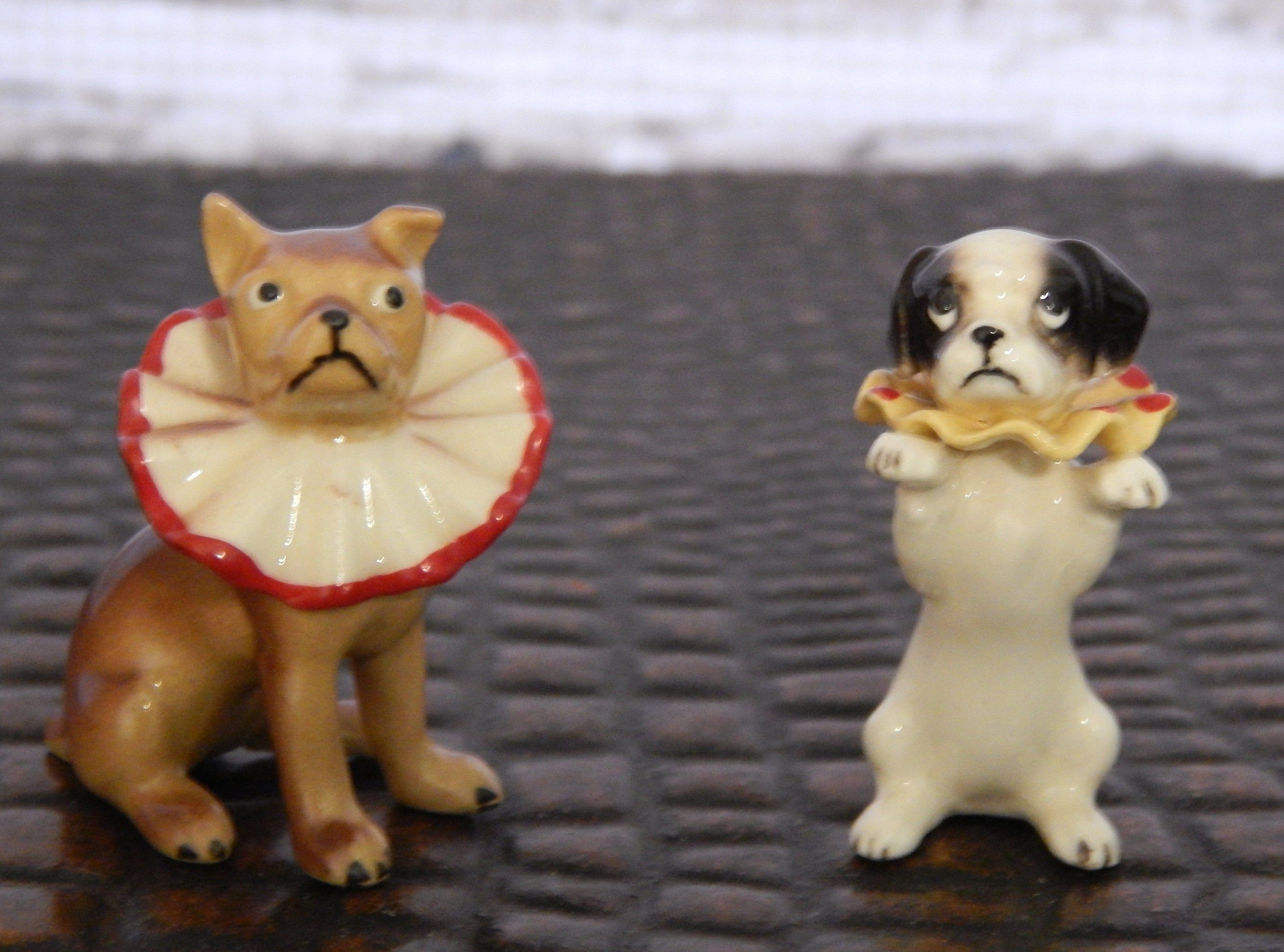 Vintage Hagen Renaker Collectable Circus Animals 1950s Rare Etsy Dog Figurines Collectible Pottery Circus Animals