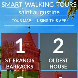 Smart Walking Tours is coming soon to #staugustine! You'll be able to explore great sites like the #oldesthouse, the #alcazarhotel, #poncedeleonhotel, and much more of the #oldcity! Like our #southbeach and #downtownmiami tours, our St. Augustine tour will be available for download onto your #smartphone or #tablet for just $4.99! You'll be able to #tour on your own schedule, and at your own pace! You can even take the tour over multiple days! Bookmark our website to stay up to date!