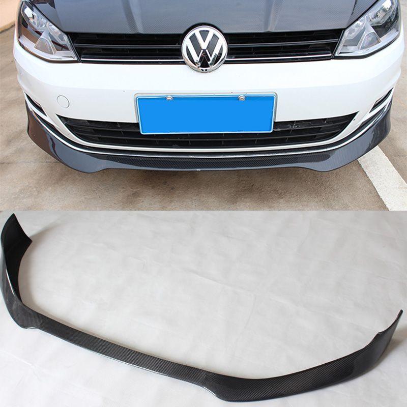 golf 7 mk7 dtm style carbon fiber car front bumper lip. Black Bedroom Furniture Sets. Home Design Ideas