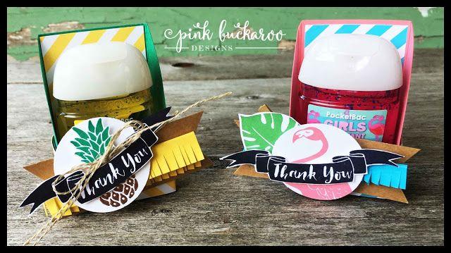 Pink Buckaroo Designs Pop Of Paradise Hand Sanitizer