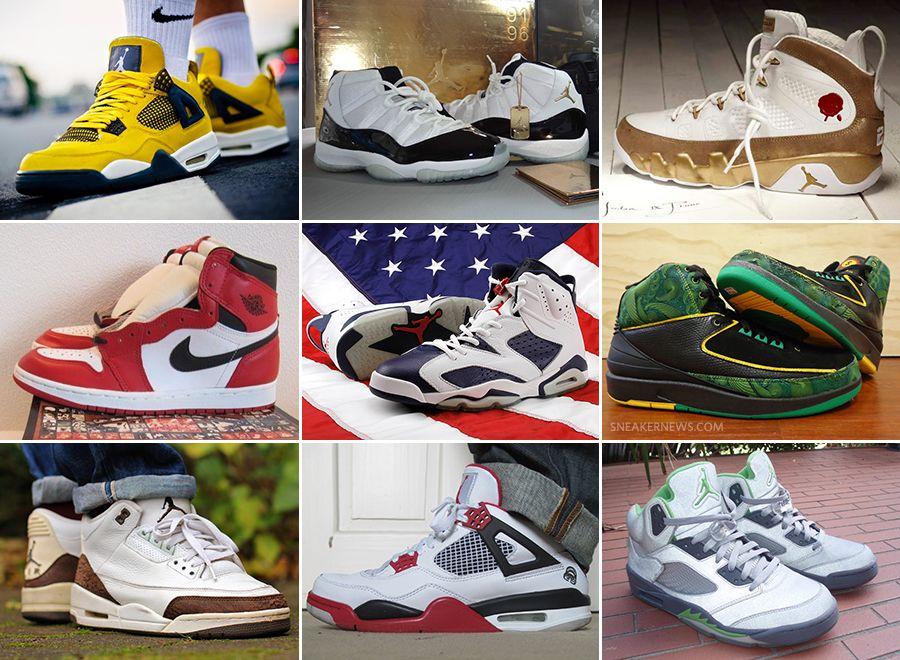 77f34d468e06 20 best jordan retros 20th Anniversary Special  The Twenty Most Significant Air  Jordan Retro Releases