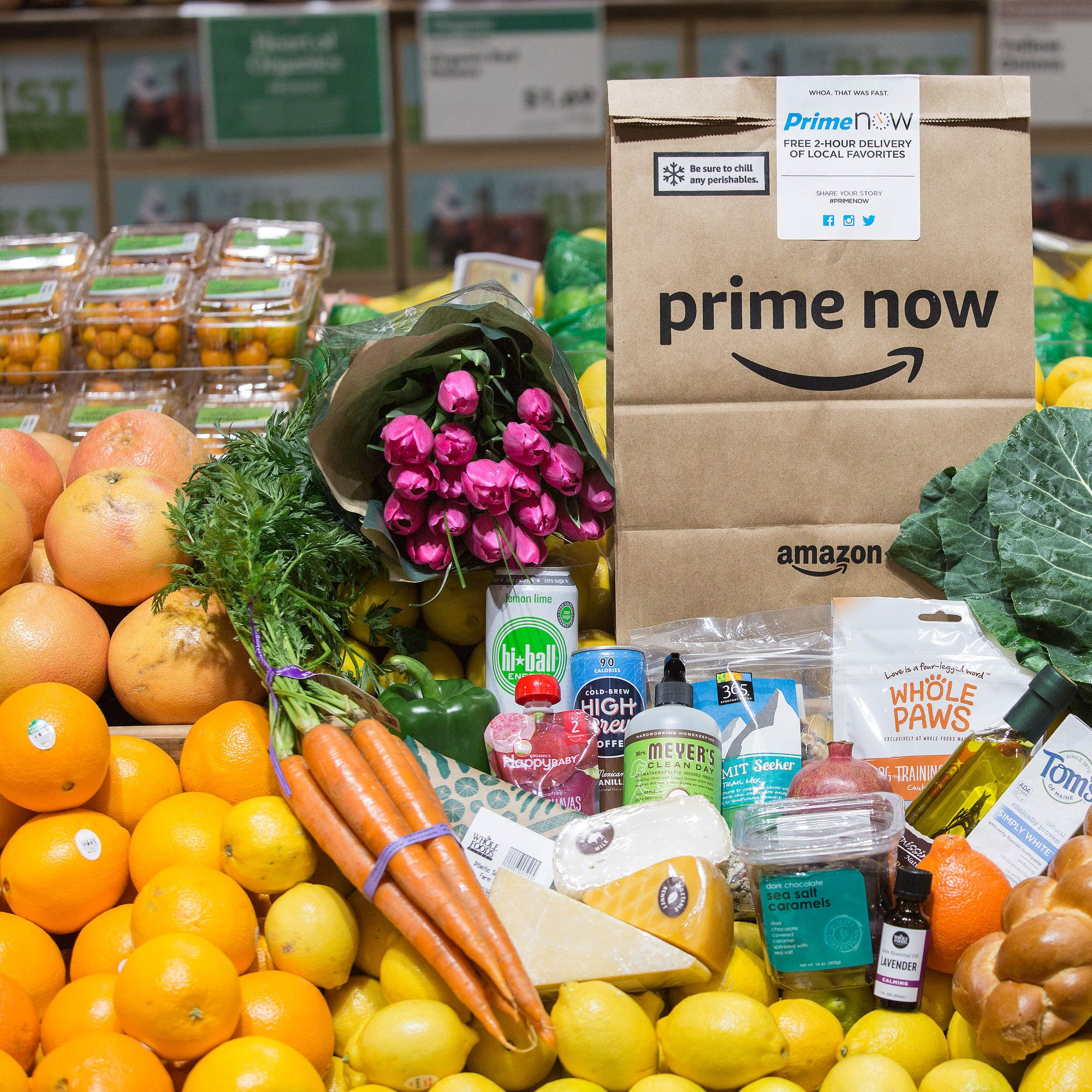 It's Official Amazon Now Offers Free 2Hour Whole Foods