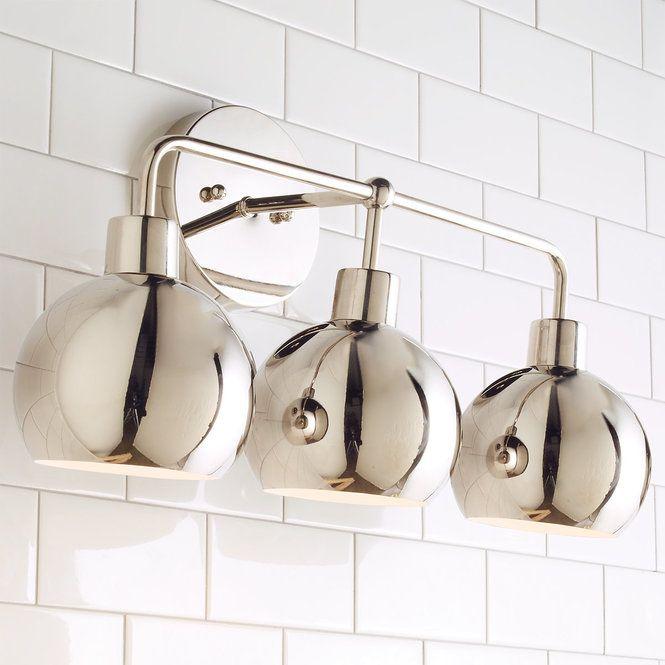 dark light bathroom light fixtures modern. Fine Modern Young House Love Bubble Vanity Light  3  Vanities Lights And  Midcentury Modern To Dark Bathroom Fixtures Modern M