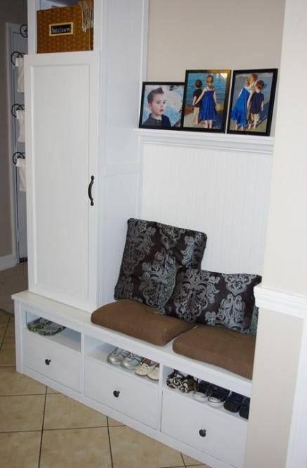 Garage Mudroom Ideas Cheap Ikea Hacks