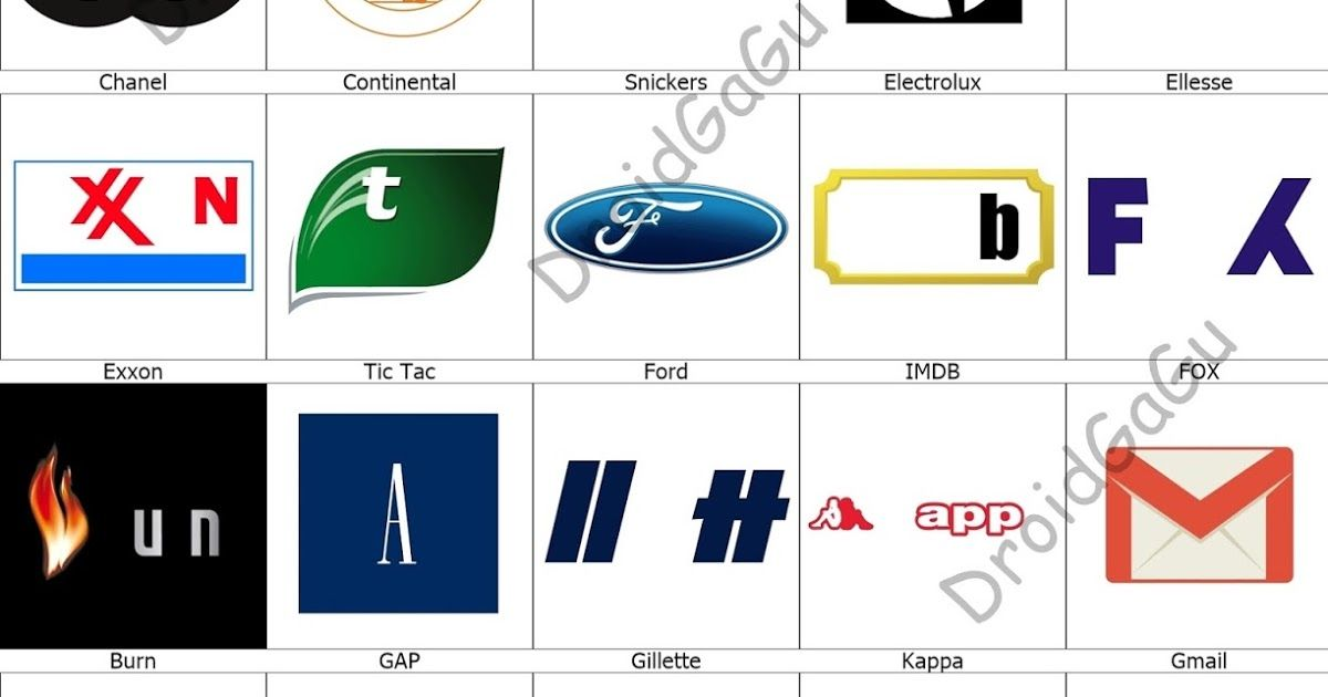 Logo Quiz Answers Pack 3 Vector And Clip Art Inspiration