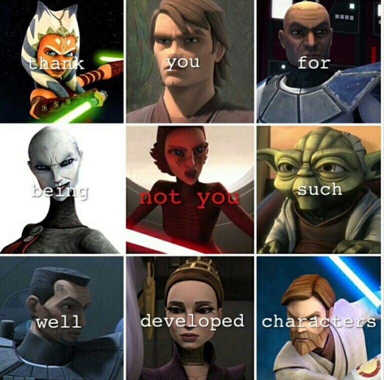 Someone Aced This Meme Star Wars Ahsoka Star Wars Fandom Star Wars Jokes