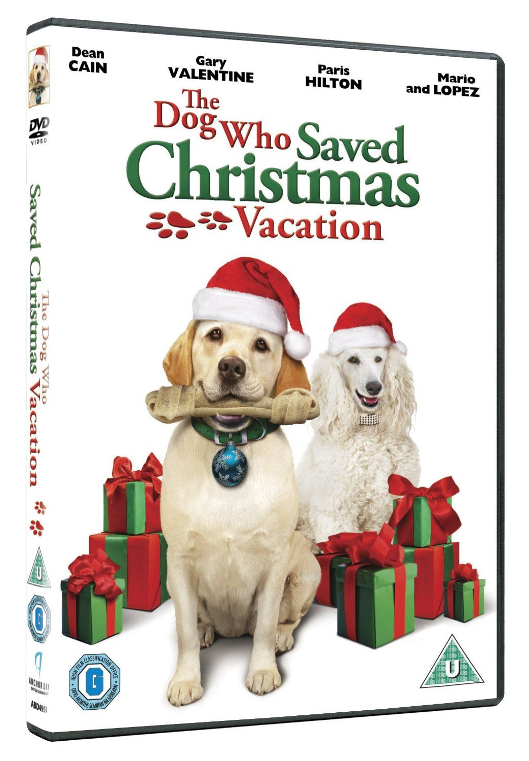 The Dog Who Saved Christmas Vacation [DVD]: Amazon.co.uk: Dean Cain ...