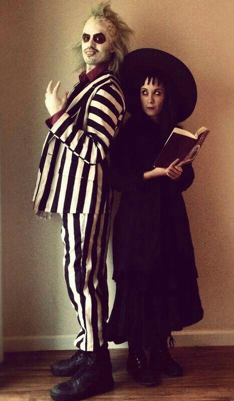 Beetlejiuce  Lidia Halloween Party Pinterest Costumes - good couples halloween costume ideas