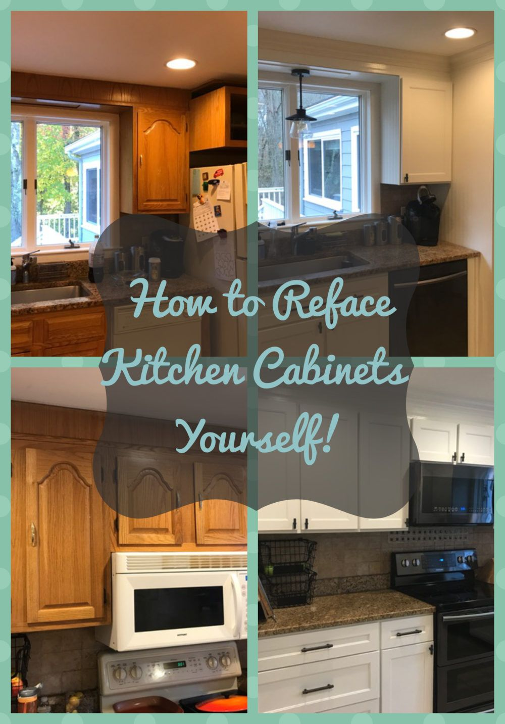 The Perfect Way To Update Your Kitchen Without Spending A Ton Of Money Or A Ton Of Time Pai Kitchen Diy Makeover Refacing Kitchen Cabinets Diy Kitchen Cabinets