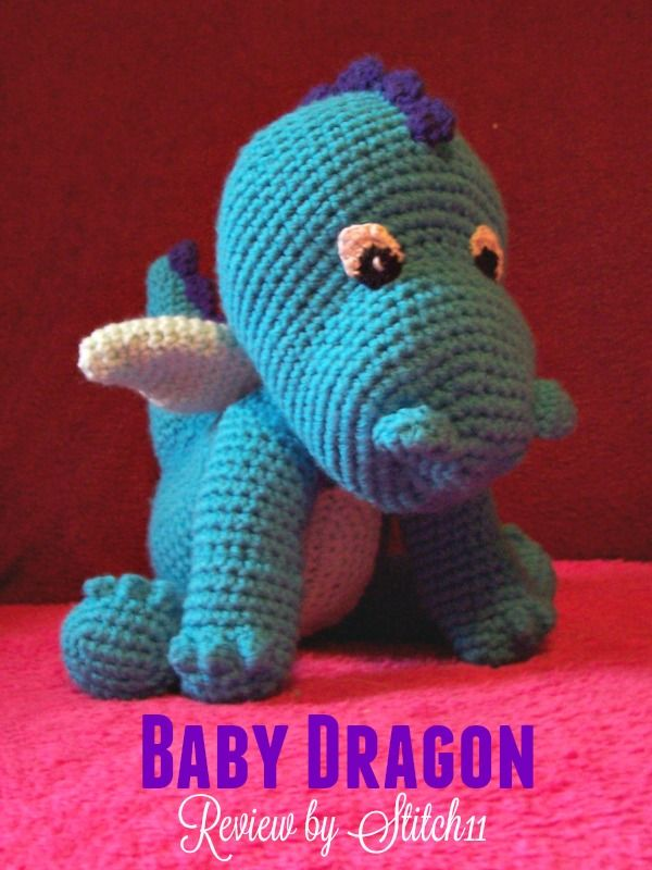 Baby Dragon - Free Crochet Pattern Review - Stitch11 | Moogly ...