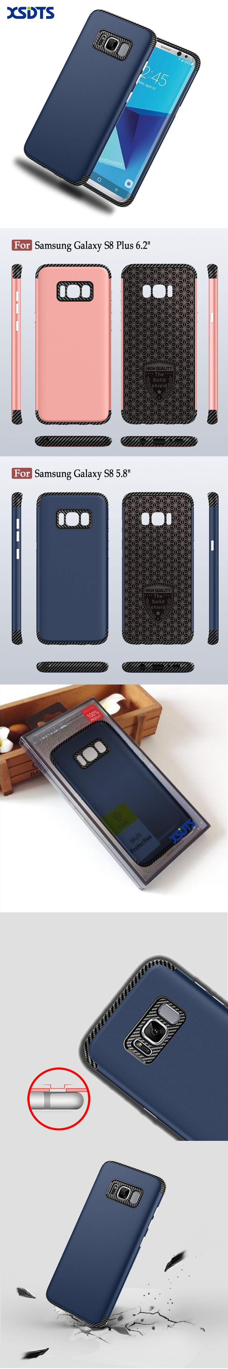 XSDTS Case Cover For Samsung Galaxy S8 Plus Anti knock Phone Cases For Samsung S8 Edge