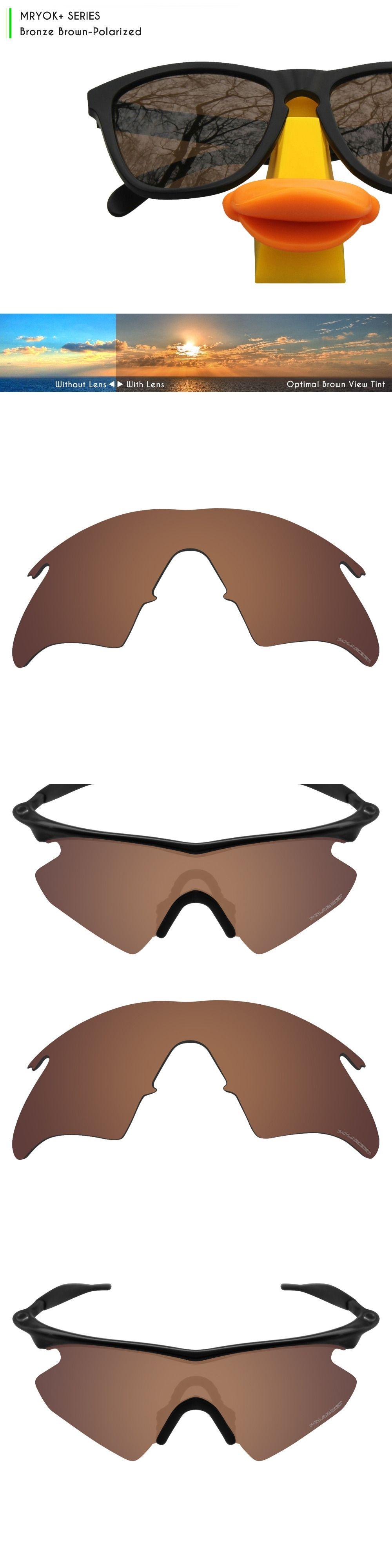 e74e68c214060 ... sale mryok polarized resist seawater replacement lenses for oakley m  frame heater sunglasses bronze brown color