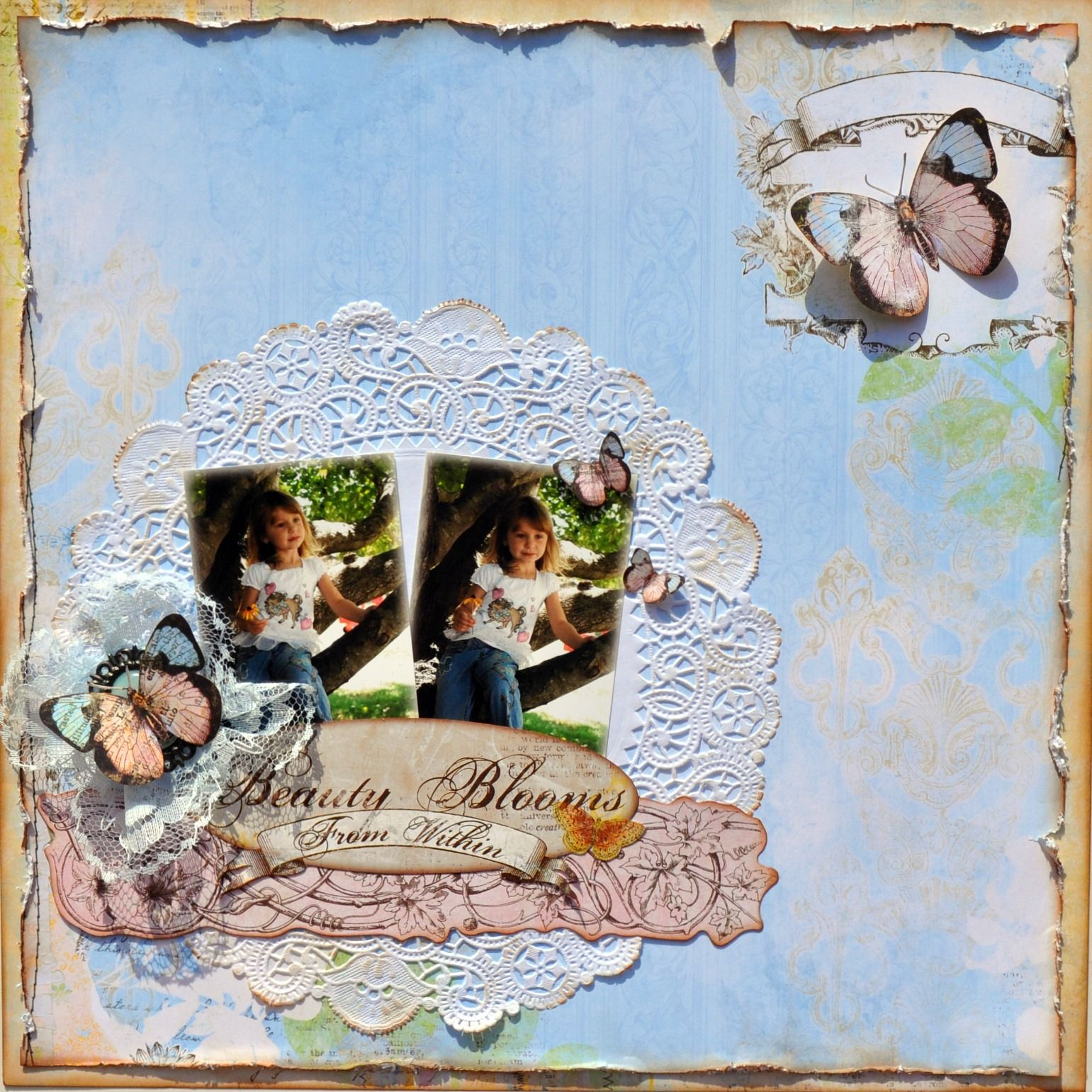 Beauty Blooms from Within ~My Creative Scrapbook~ - Scrapbook.com
