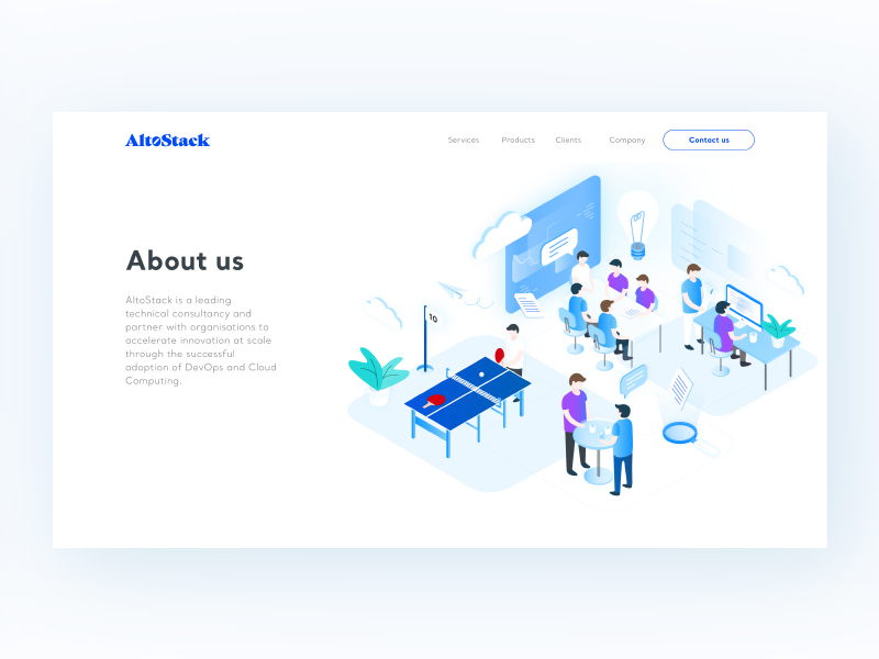 Altostack About Us This Is Us Dribbble Good Presentation