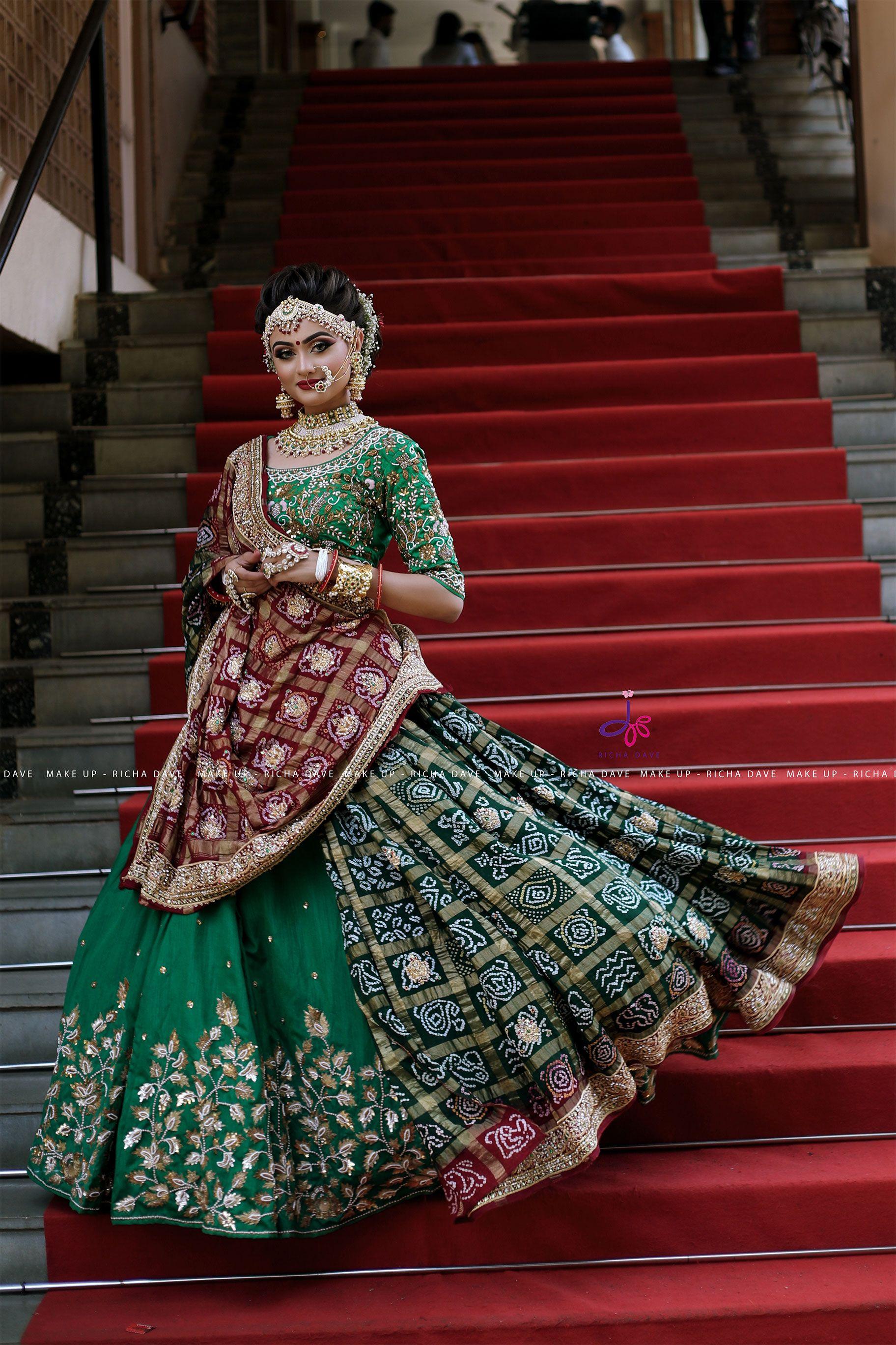 It's Gujarat's special GHARCHOLA or JARIKYARA sari We love