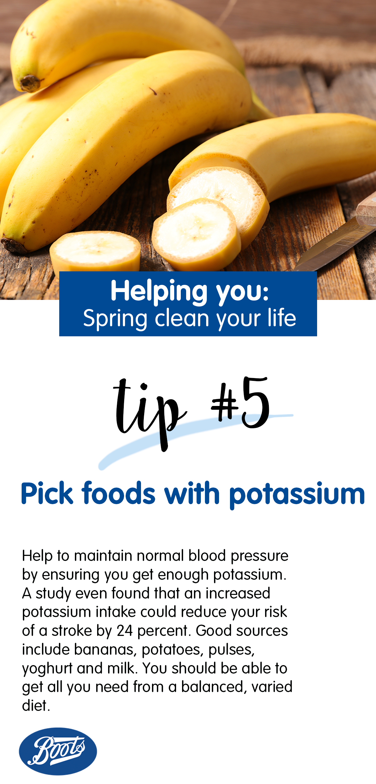 Helping you pick foods with potassium Health and