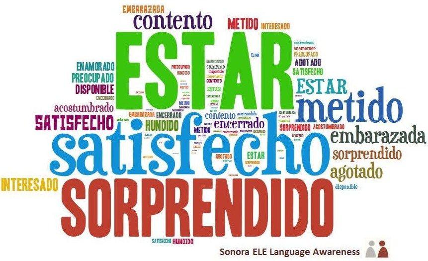 Online Spanish Sonora Ele Ser O Estar Palabras En Español Aprender Español Verbos En Espanol