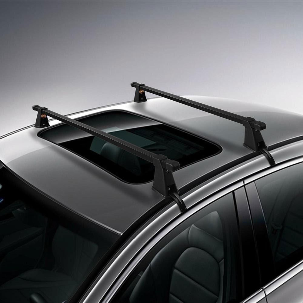 47 1 4 Universal Cross Bar Car Roof Rack Luggage Cargo Car Roof