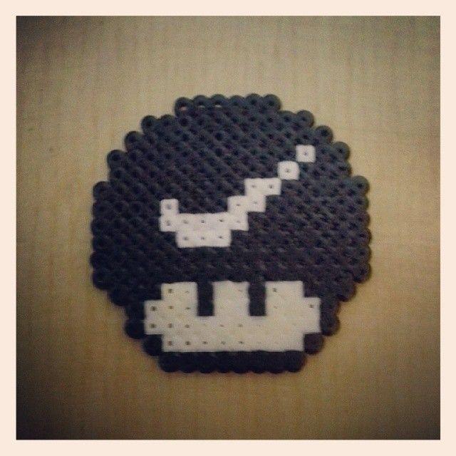 Beads Pin Bowling Pattern Perler