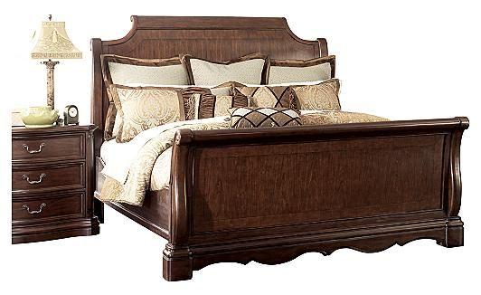 Camilla King Sleigh Bed Furniture Mattress Furniture Ashley Furniture