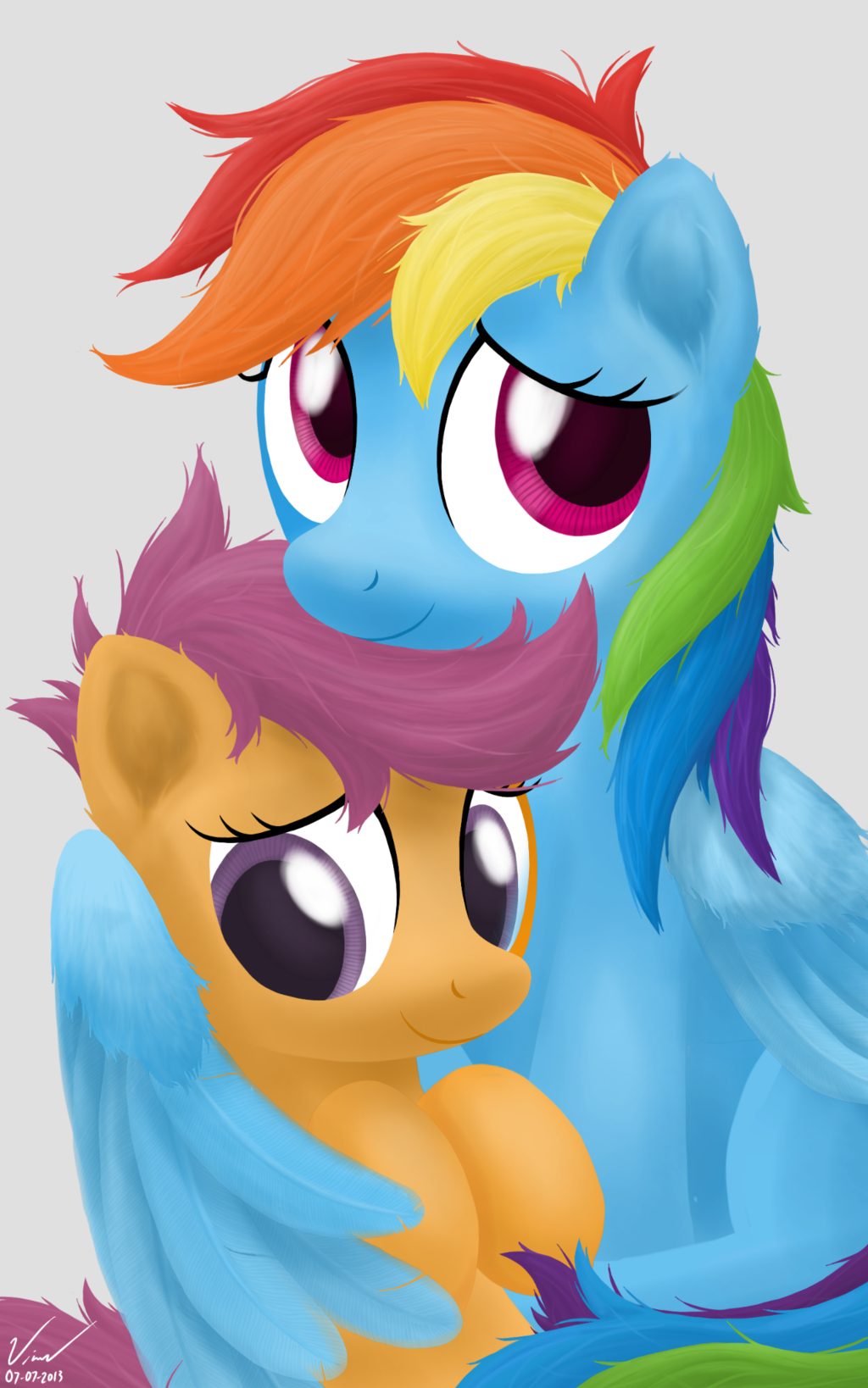 Photograph Rainbow Dash And Scootaloo By Symbianl On Deviantart Rainbow Dash Mlp My Little Pony Pony How could she ever have forgotten? rainbow dash mlp my little pony pony