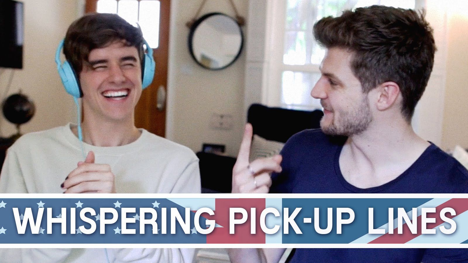 Whispering British vs American Pick-Up Lines
