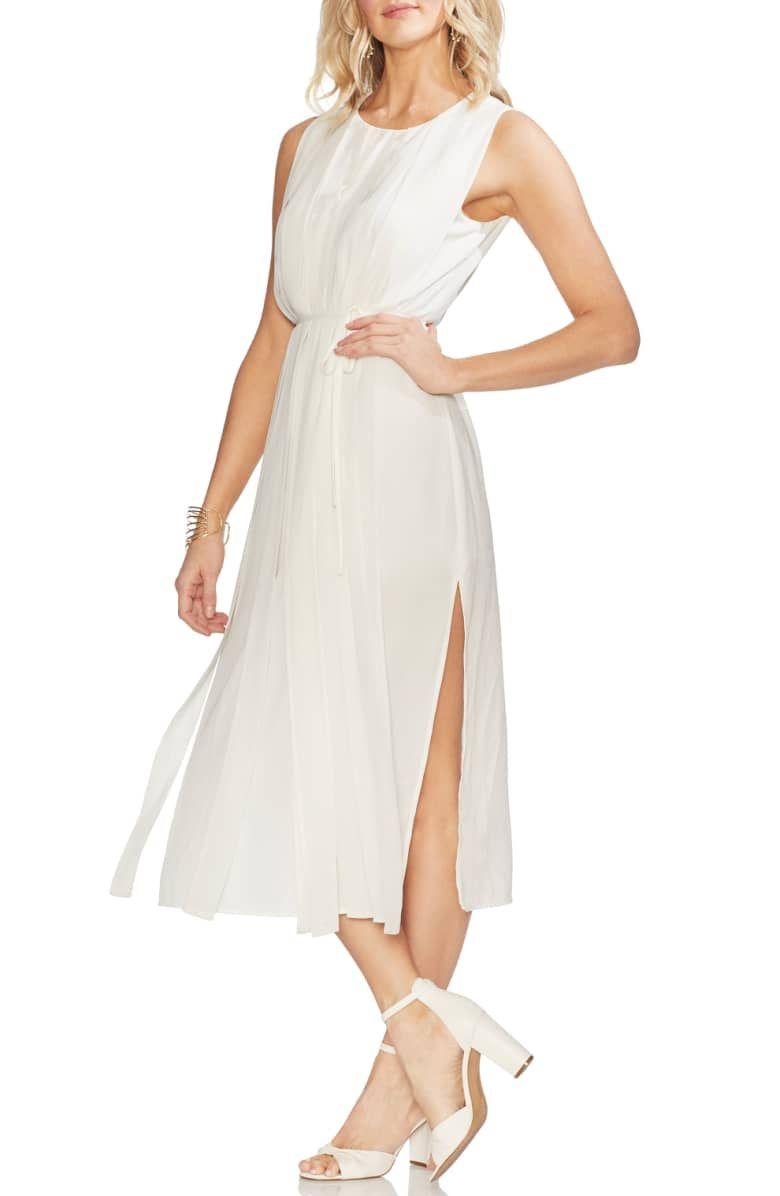 Vince Camuto Pleated Overlay Sleeveless Dress Nordstrom Nordstrom Dresses Dresses Long Sleeve Maxi Dress [ 1196 x 780 Pixel ]