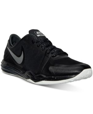 premium selection 70c32 9457d Nike Women s Dual Fusion Tr 3 Print Training Sneakers from Finish Line -  Black 7.5