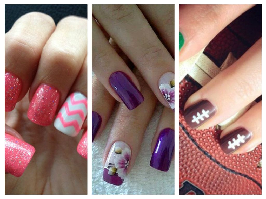 Spring nail designs beauty tips pinterest spring nails and super cute school nail designs for spring season 2015 prinsesfo Images
