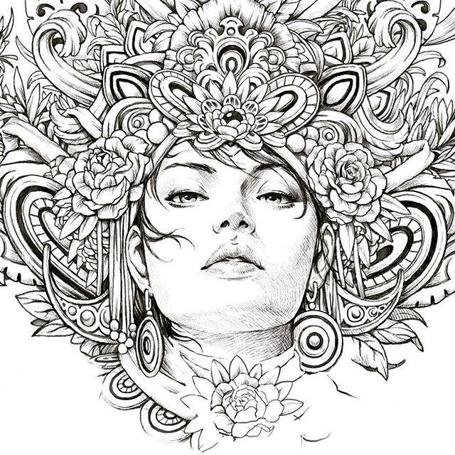 Vysledek Obrazku Pro SERENE By Nicholas F Chandrawienata Coloring Book