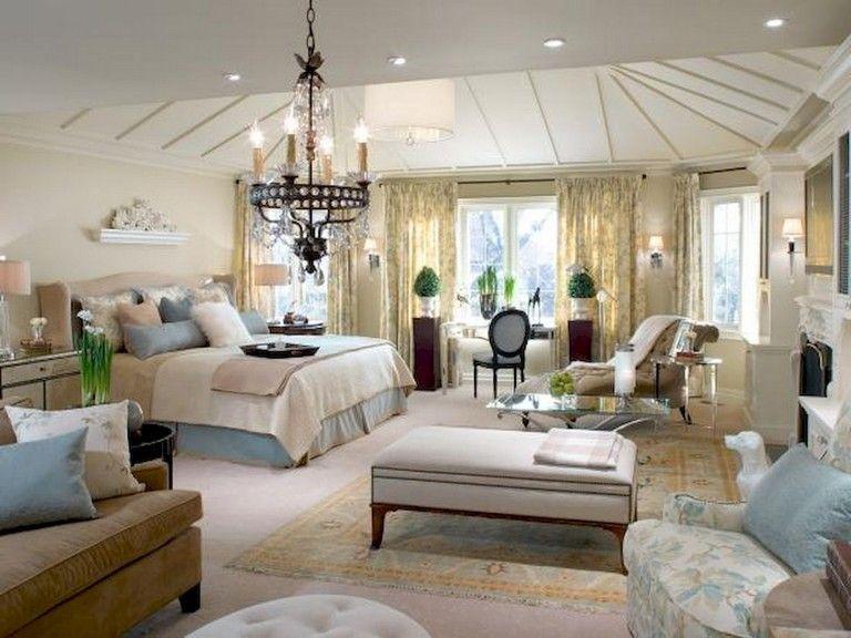 99+ Lovely Farmhouse Master Bedroom Decor Ideas #bedrooms