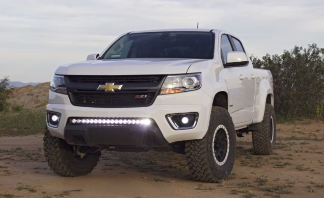 This Unofficial 2015 Chevy Colorado Zr2 Is Your Cheap Mini Ford Raptor Chevy Colorado Chevy Chevy Colorado Z71