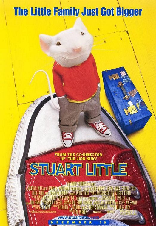Stuart Little Starring Michael J Fox Geena Davis Hugh Laurie