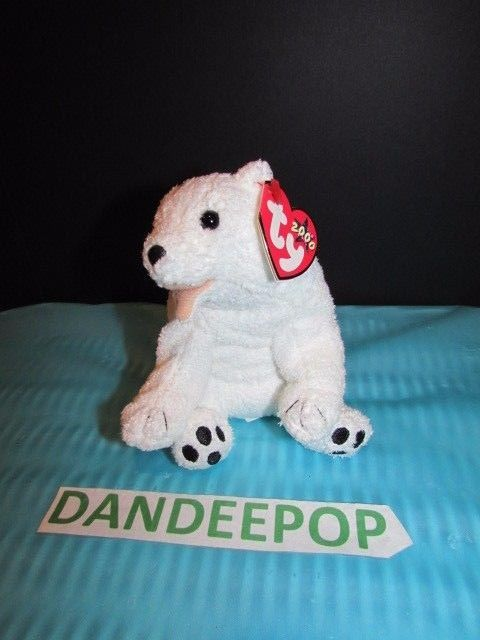 TY Retired Beanie Baby Ty 2000 Aurora Polar Bear 2000 Rare With Tags  Ty   Beanie  aurora  polarbear  ty2000  rare  retired  dandeepop Find me at  dandeepop. ... 01b0f2ae0ed2