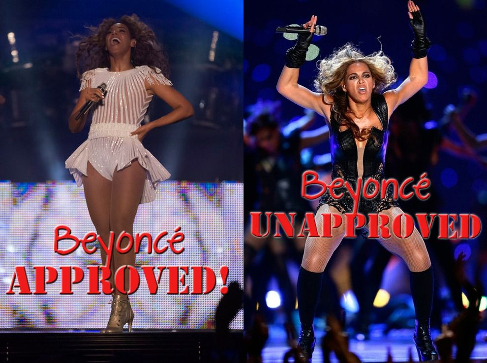 Photos Beyoncé Wants You To See Vs. The Photos She Doesn't ...